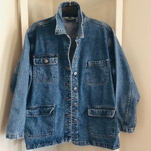 Vintage 90s Bill Blass Jean Jacket